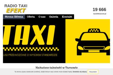 Efekt Radio - taxi - Firma transportowa Tarnów