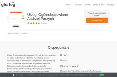 Usługi Ogólnobudowlane Andrzej Parzych - Zbrojarz Lipniki