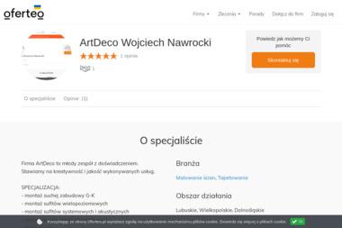ArtDeco Wojciech Nawrocki - Tapetowanie Wschowa