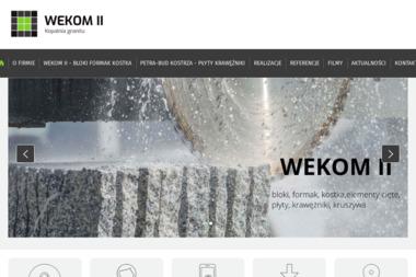 Kopalnia Granitu WEKOM II Sp. z o.o - Płyty Drogowe Używane Strzegom