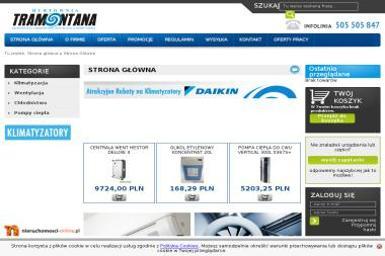TRAMOTANA - Urządzenia, materiały instalacyjne Pabianice
