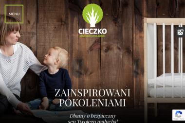 Zakład stolarski Cieczko Andrzej - Nowoczesny Mebel Bobrowo