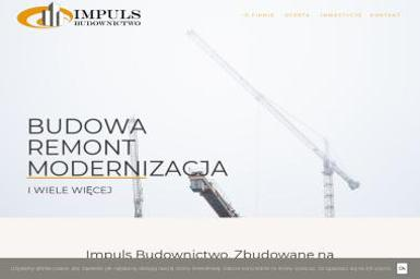 Impuls Budownictwo Sp. z o.o. - Domy Murowane Pod Klucz Łęczna