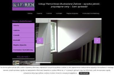 KAF-REM Usługi Remontowo-Budowlane - Remonty mieszkań Zabrze