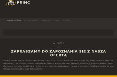FUH PRINC ANDRZEJ PALKA - Kucie Betonu Mikołów