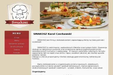 Smakosz Karol Czerkawski - Catering Dla Firm Łódź