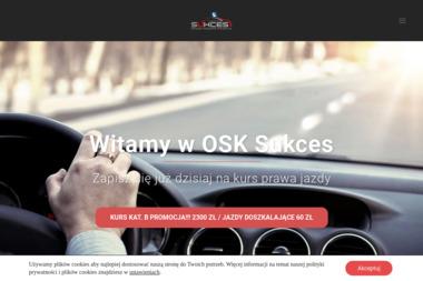 Ośrodek Szkolenia Kierowców SUKCES - Szkoła jazdy Częstochowa