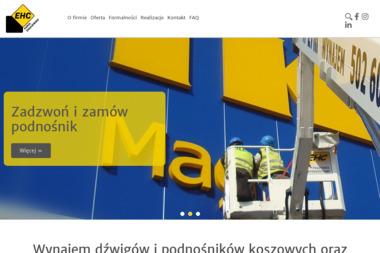 EHC-Kraków - Wypożyczalnia Sprzętu Budowlanego Kraków