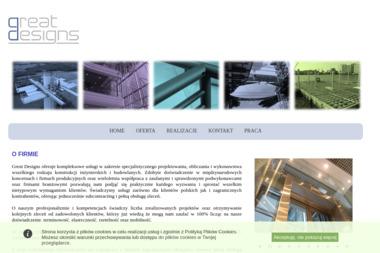 Great Designs Sp. z o.o. - Wzornictwo przemysłowe Suchy Las