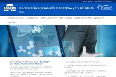 Kancelaria Doradców Podatkowych ABAKUS S.C. - Firma konsultingowa Głogów