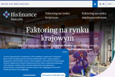 IFIS FINANCE' SPÓŁKA Z OGRANICZONĄ ODPOWIEDZIALNOŚCIĄ - Faktoring Warszawa