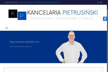 Kancelaria Doradztwa Podatkowego Marcin Pietrusiński - Doradztwo, pośrednictwo Toruń