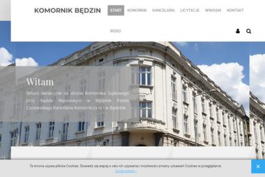 Komornik Sądowy przy Sądzie Rejonowym w Będzinie Sebastian Służałek - Usługi Prawne Będzin