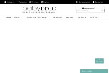 BabyDECO - Wyposażenie sypialni Tarnawa Dolna