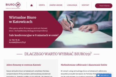 BIURO29 - oddział Katowice - Wirtualny Adres Katowice