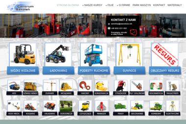 Centrum Szkoleń BHP - Maszyny i urządzenia różne Łódź