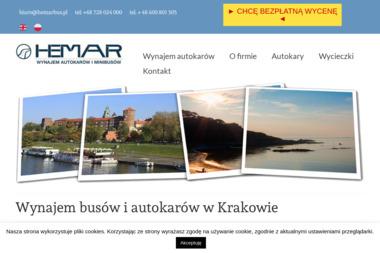 Hemar - wynajem busów i autokarów - Wypożyczalnia samochodów Kraków