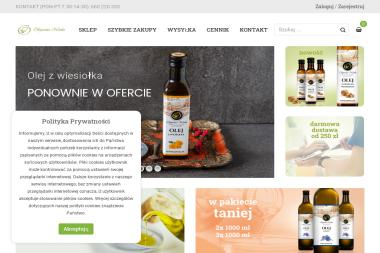 Olejarnia Niwki - Zdrowa żywność Zwoleń