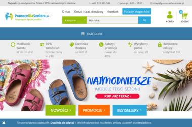 Pomoce dla Seniora Marta Krzak - Reklama Internetowa Łódź