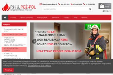 PHU POŻ-POL Damian Eitner - Projekty Sklepu Internetowego Poznań