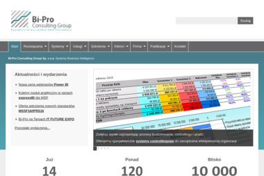BI-Pro Consulting Group Sp. z o.o. - Oprogramowanie Wrocław