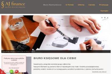 Biuro Rachunkowe AJ Finance - Usługi podatkowe Wrocław