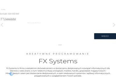 FX Systems Piotr Daszewski - Firma IT Różan