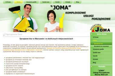 JOMA Usługi Porządkowe Maciej Walczak - Sprzątanie biur Radziejowice