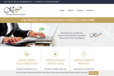 KW Biuro Rachunkowo - Konsultingowe - Dotacje unijne Środa Śląska
