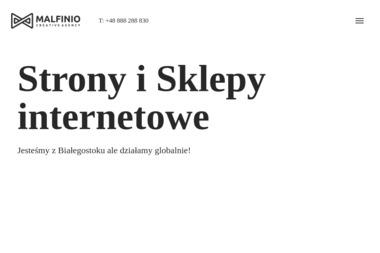 Agencja Reklamowa Malfinio.pl - Projektowanie logo Wasilków