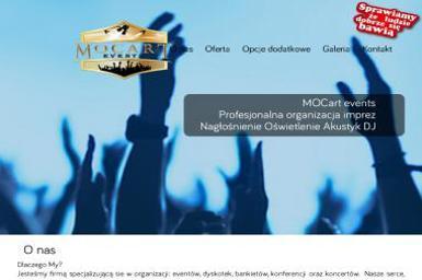 MOCART Events Profesjonalna Organizaja Imprez DJ Nagłośnienie Oświetlenie - Zespół muzyczny Mrągowo