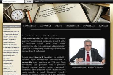 Kancelaria Notarialna Krzysztof Kruszewski Notariusz - Notariusz Warszawa