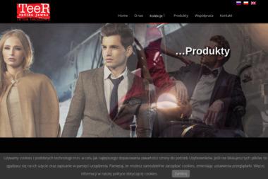 Firma handlowa TeeR P. Roszkiewicz T. Roszkiewicz sp. j - Odzież męska Oborniki