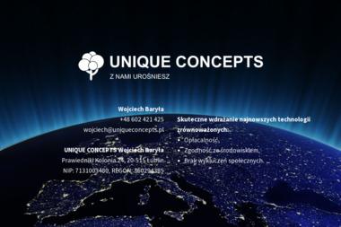 UNIQUE CONCEPTS - Sadzonki Lublin