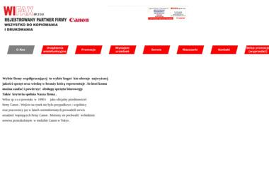 Wifax Sp. z o.o. - Plotery nowe Poznań