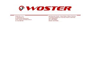 Woster Sp. z o.o. - Balustrady Środa Wielkopolska
