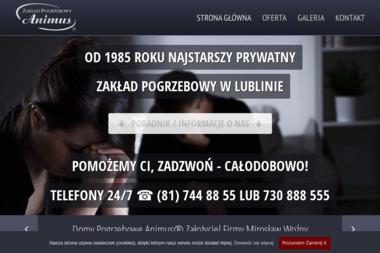 Zakład Pogrzebowy Animus - Kamieniarz Lublin