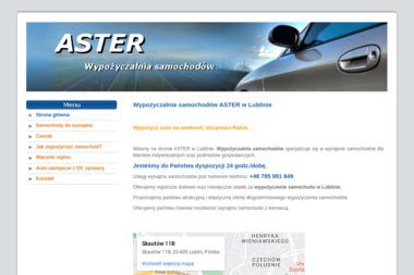 Aster - Wypożyczalnia samochodów Lublin