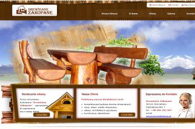 Drewniane-zakopane wojciech stopka - Budowa domów Kościelisko