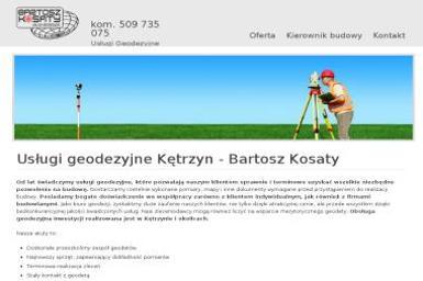 Usługi Geodezyjne Bartosz Kosaty - Nadzór budowlany Kętrzyn