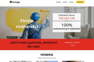 Homga Marcin Wardyński-Beszczyński - Malowanie elewacji Radzymin