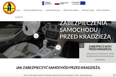 Niedźwiedź-Lock - Akcesoria motoryzacyjne Luboń