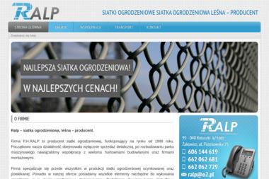 P.H RALP Paweł Wasielewski - Ogrodzenie Panelowe Drewniane Koluszki