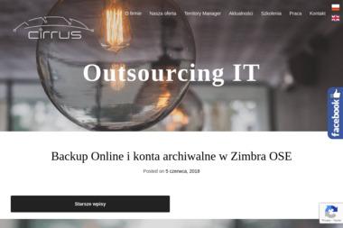 CIRRUS Maria Pióro - Obsługa klienta, help desk Tczew