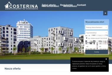 Costerina - Nieruchomości na Kaszubach - Agencja nieruchomości Kościerzyna
