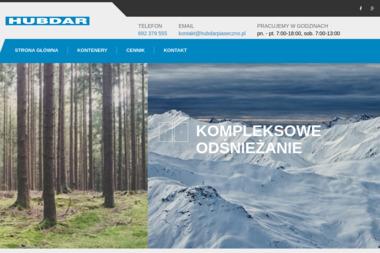 HUBDAR Firma usługowa Dariusz Kusak - Odśnieżanie dachów Zalesie Górne