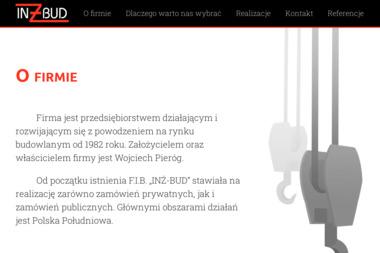 """F.I.B. """"INŻ-BUD"""" - Posadzki przemysłowe Maków Podhalański"""