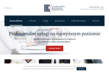 MG Kancelaria Biegłego Rewidenta Małgorzata Górska - Biznes Plan Firmy Budowlanej Nowy Sącz
