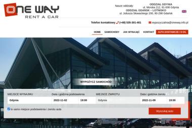 WYPOZYCZALNIA SAMOCHODÓW ONE WAY - Wypożyczalnia samochodów Gdynia