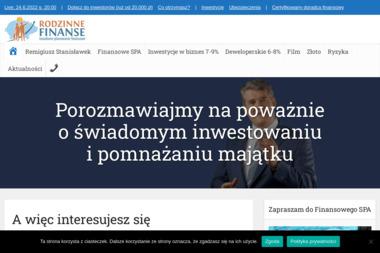 Rodzinne Finanse Remigiusz Stanisławek (Opiekun Inwestora) - Fundusze Emerytalne Poznań
